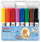 Herlitz Felt Pens 8-Pieces Pretty Pets