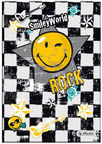 Herlitz Hardback Notebook A5 Smileyworld Rock