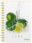 Herlitz Spiral Pad A5 Fresh Fruit Lime