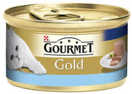 Purina Gourmet Gold Pate with Tuna and Mackerel 85g