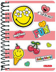 Herlitz Spiral Notepad SmileyWorld Girly 50002788