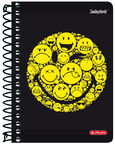 Herlitz Spiral Notepad SmileyWorld Black 50002795