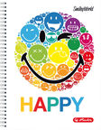 Herlitz Spiral Pad A4 SmileyWorld Rainbow 50002771