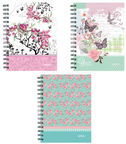 Herlitz Spiral Hardback Notebook A6 Ladylike Assortment 11232543
