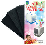 Georplast Filter 9 x 18cm 3pcs