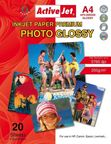 ActiveJet Photo Paper A4 200 Gloss 20 Pages