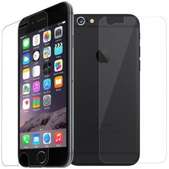Blun Extreeme Shock Screen Protector Front And Back For Apple iPhone 6/6S (BL-TEM-IP-6/6S/2PC)