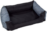 Eu Dog Bed Cushion 80x60cm Black/Grey