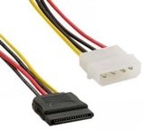 4World Power Cable Molex / SATA 0.15m