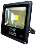 ART External LED Lamp 20W IP66 AC80-265V 3000K Black