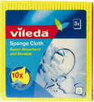 Vileda Sponge Cloths 3pcs