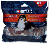 Ontario Dog Chicken Jerky & Calcium Bone 500g