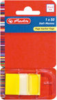 Herlitz Page Marker Flags Yellow 11233939