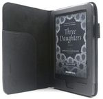 C-TECH Protect Case for Kindle 8 Touch with WAKE/SLEEP function Black