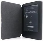 C-TECH Protect Hardcover Case for Kindle 8 WAKE/SLEEP function Black
