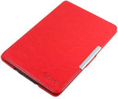 C-TECH Protect Hardcover Case for Kindle Paperwhite WAKE/SLEEP function Red