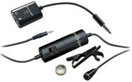 Audio-Technica ATR3350iS Omnidirectional Condenser Lavalier Microphone