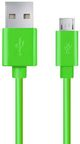 Esperanza Cable USB to USB-micro Green 1m