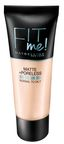 Maybelline Fit Me Matte + Poreless Foundation 30ml 105 Natural Ivory