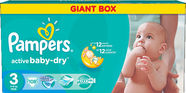 Pampers Active Baby-Dry S3 108