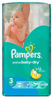 Pampers Active Baby-Dry S3 54