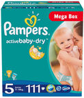 Pampers Active Baby-Dry S5 111