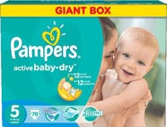 Pampers Active Baby-Dry S5 78