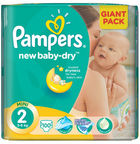 Pampers New Baby-Dry S2 100