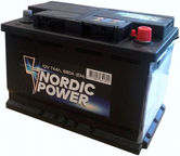 Nordic Battery NP1602