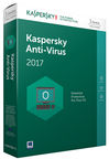 Kaspersky Anti-Virus 2017 1-PC 1Y Base