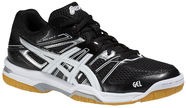 Asics Gel Rocket 7 B455N-9001 Black White 39