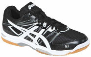 Asics Gel Rocket 7 B405N-9001 Black White 45