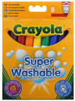 Crayola Super Washable Marker Pens 8pcs