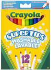Crayola Super Tips Washable Markers 12pcs