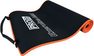 PROfit Exercise Mat 180x60x0.6cm Black/Orange