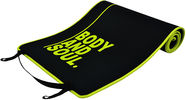 PROfit Exercise Mat Body and Soul 180x60x0.6cm Black