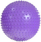 ProFit Football Gym With Message 55cm Purple