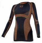 IQ Premium Women Black/Brown Shirt 40/42