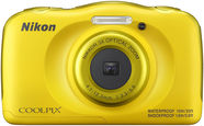 Nikon Coolpix W100 Yellow + Backpack