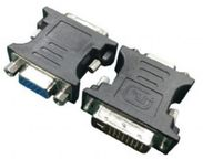 Gembird Adapter DVI-A to VGA Black