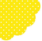 Paw Decor Collection Dots Intense Yellow 32cm