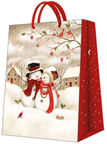 Paw Decor Collection Snowy Family Large