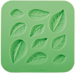 Tescoma Delicia Deco Silicone Moulds Little Leaves