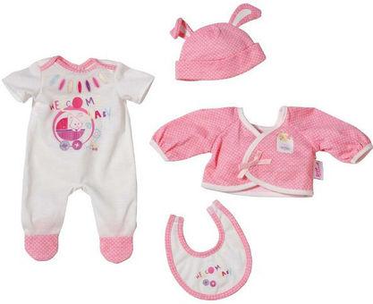 51fdeb4cff2 Baby Born Deluxe Newborn Clothes 819784 :: Аксессуары для кукол ...