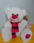 Morgenroth Bear With Scarf 24cm 35425