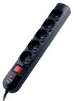 Tracer Power Strip Black 1.8m