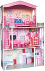 Woodyland Doll House With Accsessories 91163
