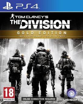 Tom Clancy's The Division Gold Edition Incl  Season Pass PS4