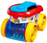Mega Bloks First Builders Block Scooping Wagon CNG23