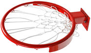 Domeks Basketball Rim Red